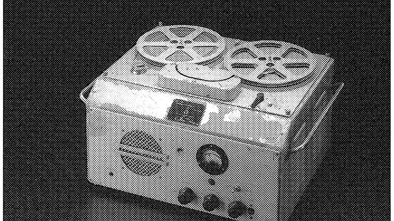 日本初のテープレコーダーG型